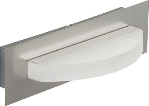Briloner LED-Wandleuchte 1-fach g. 1x6 Watt Nickel matt 3548-012