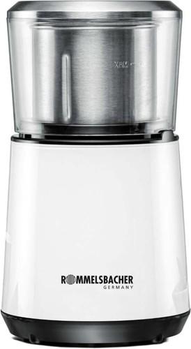Rommelsbacher Kaffeemühle Schlagmesser 200W weiß EKM 125
