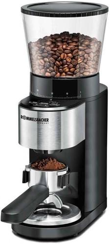 Rommelsbacher Kaffeemühle Kegelmahlwerk 160W schw. mit Waage EKM 500
