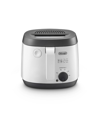 DeLonghi Fritteuse FS 3021W weiß/ant