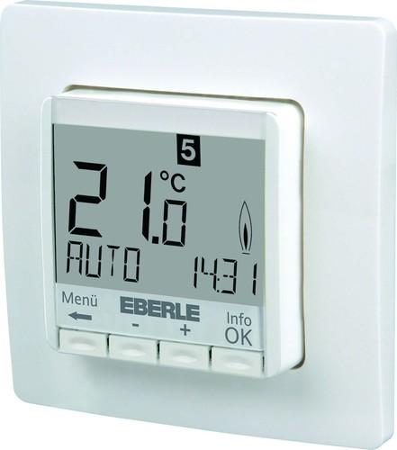 Eberle Controls UP-Uhrenthermostat FIT 3Rw / weiß