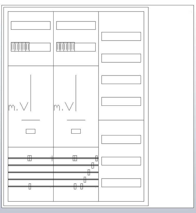 ABN Zählerschrank 3Pkt 2Z 1V,HLAK S37ZR120