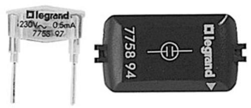 Legrand (BT) Glimmaggregat 1mA 230VAC grün 775893