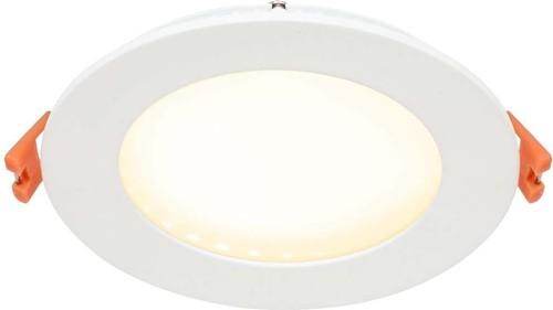 EVN Lichttechnik LED Einbau Panel weiß 9W 3000K 120mm rd. LP RW 123502