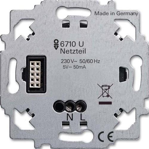 Busch-Jaeger Netzteil-Einsatz 6710 U