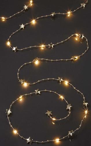 Hellum LED-Lichterkette m.Sternen20-tlg.ww 521597