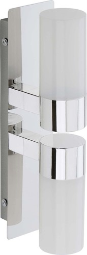 Briloner LED-Wandleuchte chrom 2202-028
