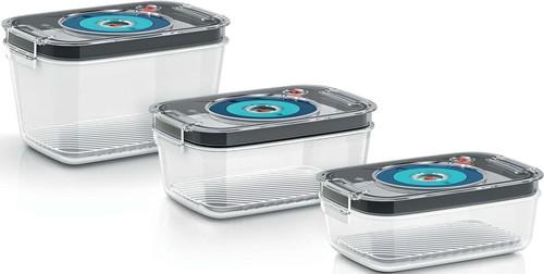 Bosch SDA Vakuum Frischhaltedosen 3 Boxen,f.Vaccum Sys MSZV0FC3