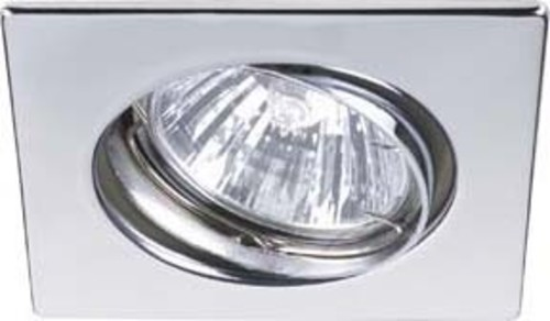Brumberg Leuchten HV-Einbaustahler GU10 max.50W/ni-matt 36305150