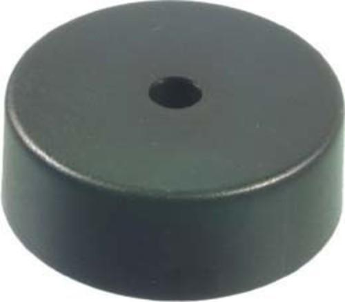 Scharnberger+Hasenbein Deckenverteilerdose schwarz Baldachin 66x24mm 88402 (136/2)