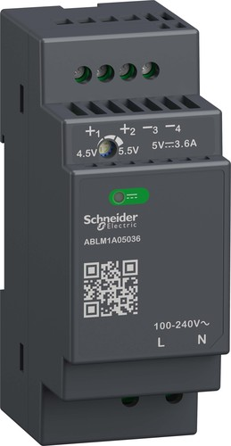 Schneider Electric Spannungsversorgung 5VDC, 3,6A, 18W ABLM1A05036