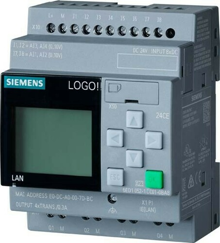 Siemens Indus.Sector LOGO! 24 CE 6ED1052-1CC08-0BA1