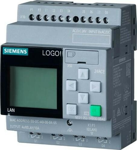 Siemens Indus.Sector LOGO! 24 RCE 6ED1052-1HB08-0BA1