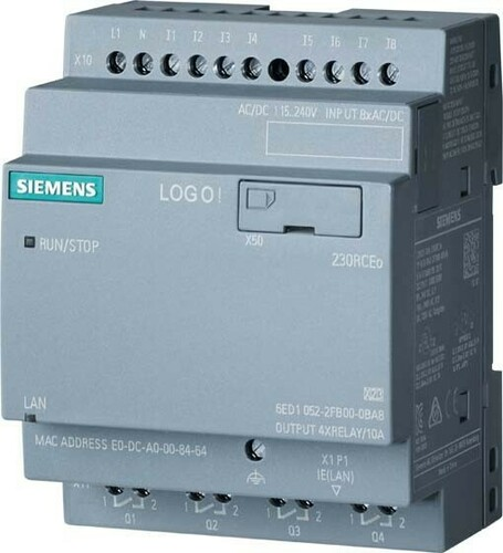 Siemens Indus.Sector LOGO! 230RCEO 6ED1052-2FB08-0BA1