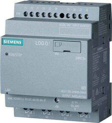 Siemens Indus.Sector LOGO! 24 RCEo 6ED1052-2HB08-0BA1