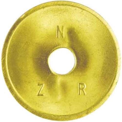 NZR Standardwertmarke D=26mm Stärke 1,6mm WM messing #2020