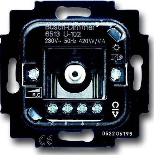 Busch-Jaeger Dimmer-Einsatz 40-420W/VA 6513 U-102