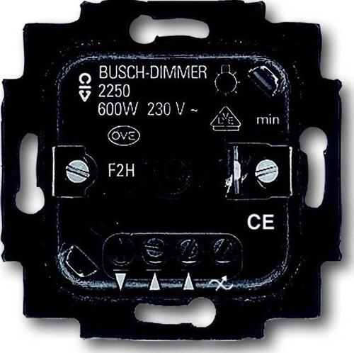 Busch-Jaeger Dimmer-Einsatz 60-600W Drehbetätig. 2250 U