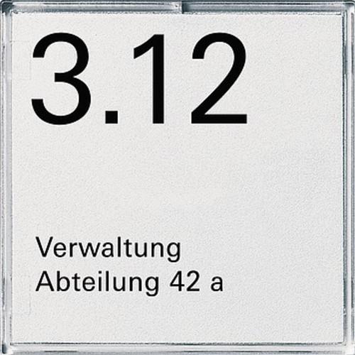 Gira Orientierungsschild 1-fach rws Event-E2 107100
