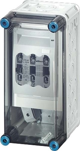 Hensel Sicherungsgehäuse 1xNH00 3p. 160A+PE+N Mi 5150