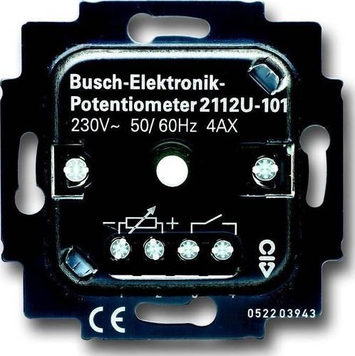 Busch-Jaeger Potentiometer-Einsatz 700 W/VA 2112 U-101