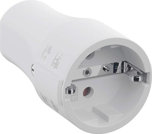 Bachmann Montagekupplung 2p+Schutzkontakt weiß 960.203
