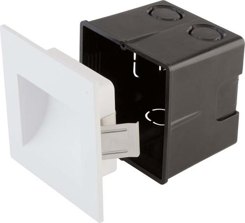 EVN Lichttechnik Wandeinbauleuchte 3000K 350mA IP65 P654030102 weiß