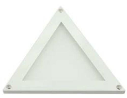 Scharnberger+Hasenbein LED-Aufbau-Panel Dreieck 12-14VDC2800K100°ws 90173