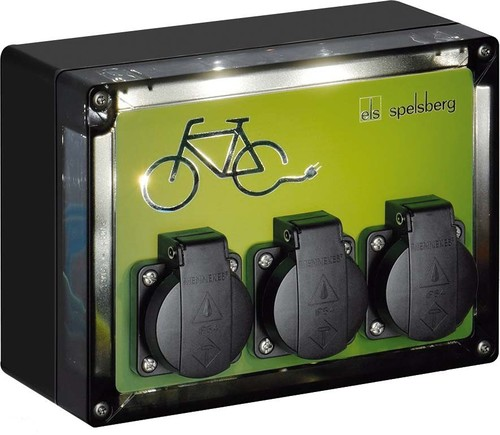 Spelsberg Fahrradladestation TG BCS 3 BE/FR LED