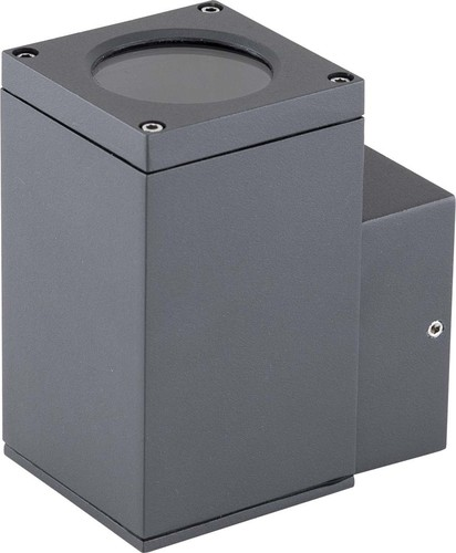 EVN Lichttechnik Wandanbauleuchte 1-fach g.anth IP54 GU10 220-240V 484016N