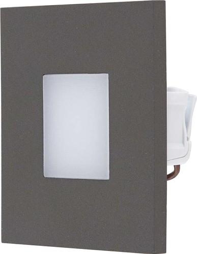 EVN Lichttechnik LED-Wandeinbauleuchte anthrazit 3000K IP44 220-240V LQ41802A