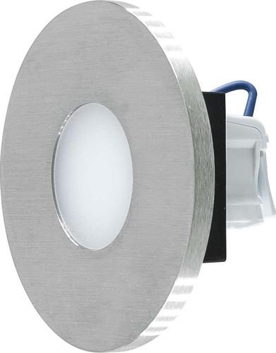 EVN Lichttechnik LED-Wandeinbauleuchte edelstahl 3000K IP44 220-240V LR01802