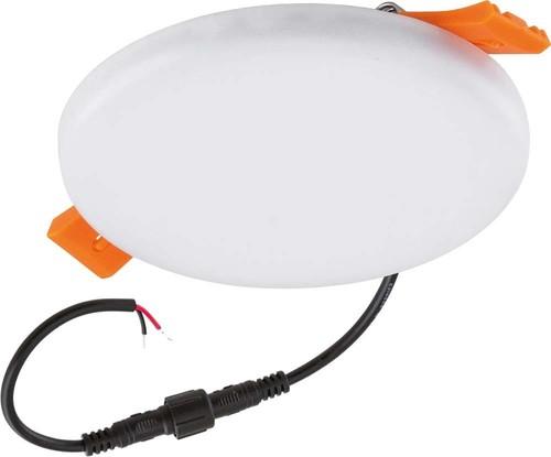 EVN Lichttechnik LED-Einbaupanel rund 3000K IP44 500mA weiß PHR44085002