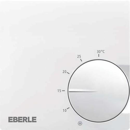 Eberle Controls Raumtemperaturregler AP polarweiss RTR-S 6121-1