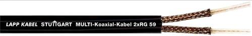 Lapp Kabel&Leitung Multikoax.kbl 2xRG-59 B/U 2x75 Ohm 2170056 T500