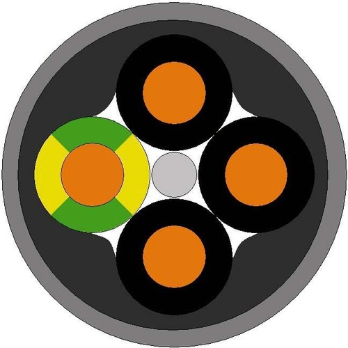 Lapp Kabel&Leitung ÖLFLEX SMART 108 4G0,75 11040099 T500