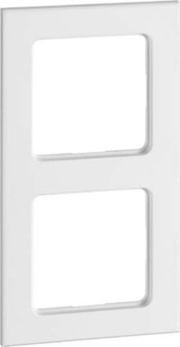 Peha Rahmen 2-fach reinweiß waage/senkrecht D 20.572.02 T