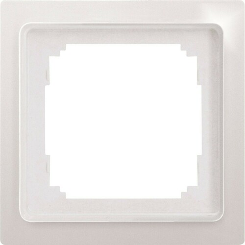 Eltako Universalrahmen 1-fach 55x55mm rws/glänz R1UE55-wg