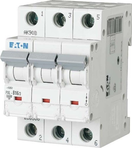 Eaton (Installation) LS-Schalter m.Beschrift. C 16A, 3p PXL-C16/3