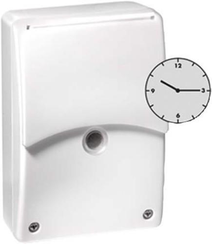 ESYLUX AP-Dämmerungsschalter m.Tag.-Zeitschaltuhr CDS-A/T
