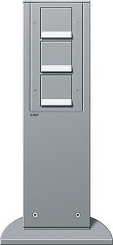 Gira Energiesäule aluminium m.Geräten 134126