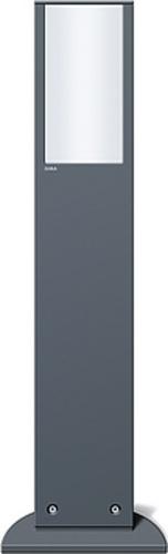 Gira Energiesäule anthrazit m.Leuchte 134328
