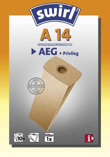 Melitta SDA Staubbeutel für AEG A 14 (VE10)
