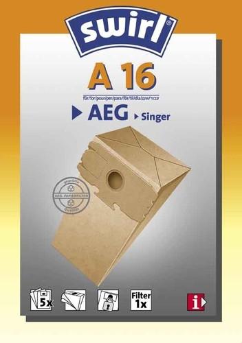 Melitta SDA Staubbeutel für AEG A 16 (VE5)
