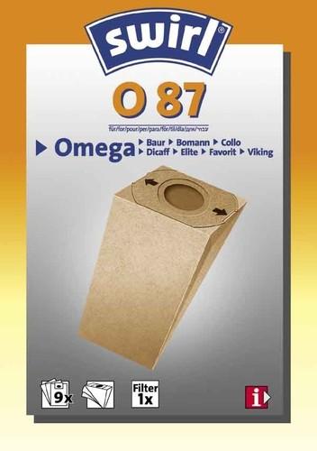 Melitta SDA Staubbeutel für Omega O 87 (VE9)