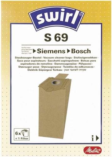 Melitta SDA Staubbeutel für Siemens/Bosch S 69 (VE6)