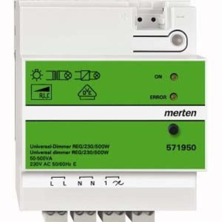 Merten Universal-Dimmer REG/230V/500W 571950