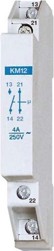 Eltako Kontaktmodul 1S+1Ö 4A/250V AC KM12 #20000030