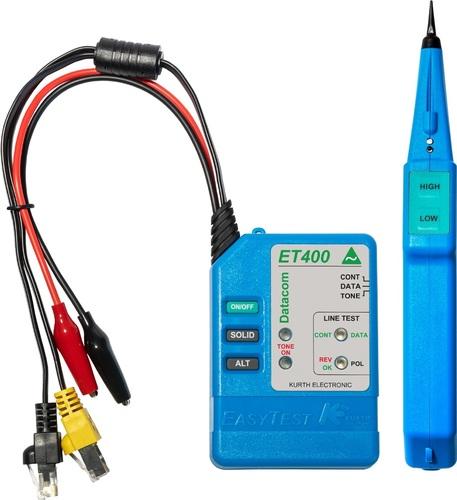Kurth Electronic IT-Leitungssucher Kit mit Schutztasche KE 401