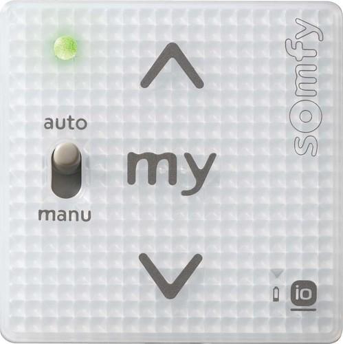 Somfy Funkwandsender A/M IN io 1-Kanal Pure Shine 1811101